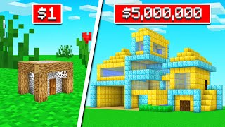 MEGA RICH vs POOR Minecraft Player! (insane)