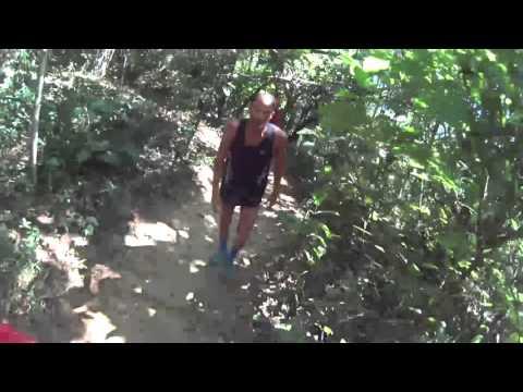 Iazaldir Feitosa e Márcio Souza - subidas íngremes em Trail Run