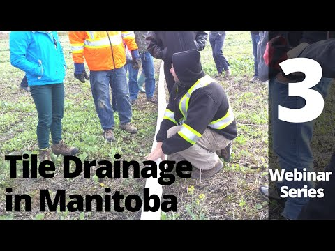 Tile Drainage Webinar 3: Tile Drainage, the Watershed, and the Environment