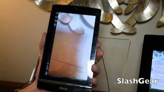 ASUS Eee Pad MeMO 171 Honeycomb tablet hands-on