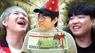 160만 유튜버 김블루 생일선물 만원으로 사기 ㅋㅋㅋㅋ