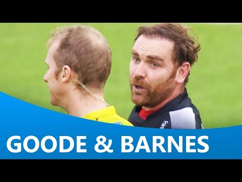 Andy Goode's funny interactions with Wayne Barnes