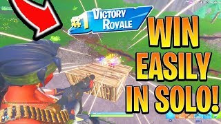 How to Win EVERY GAME in Season 8 Fortnite! Xbox/Ps4 Best SOLO Tips and Tricks! (How to win Solo) thumbnail