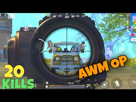 PUBG MOBILE LITE AMAZING CHICKEN DINNER WITH AWM
