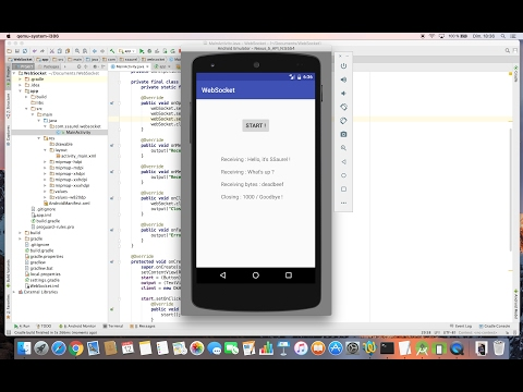 Learn to use WebSockets on Android with OkHttp – All for