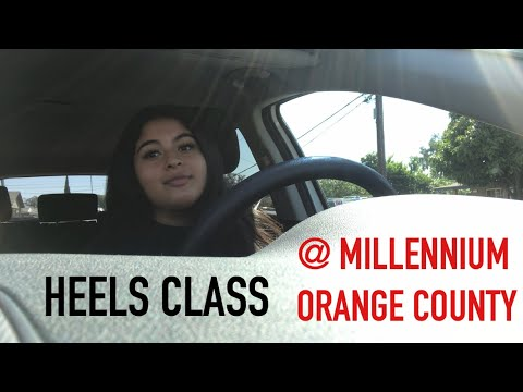 WE TOOK A MASTER DANCE CLASS AT MILLENNIUM OC