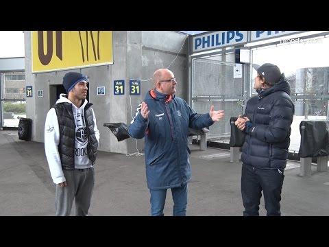 Nuñez og Pukki på landsholdsvæggen | brondby.com