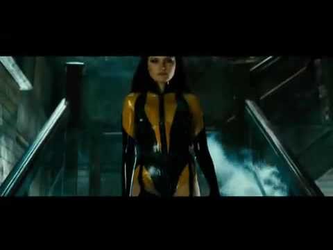 Malin Akerman  Watchmen  Tv Spot  Latex version