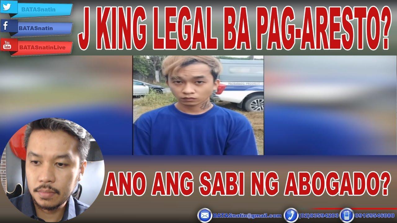 Download @fliptopbattles MC J.KING LEGAL BA ANG PAG-ARESTO?