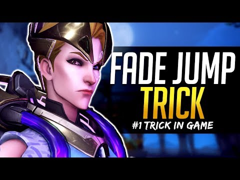 Overwatch BEST TRICK IN GAME - Moira Fade Boost