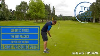 Video GOODBYE 3 PUTTS! IMPROVE DISTANCE CONTROL & PRESSURED SHORT PUTTS WITH ONE DRILL download MP3, 3GP, MP4, WEBM, AVI, FLV Agustus 2018