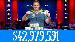 Justin Bonomo Wins the Big One for One Drop for $10 MILLION