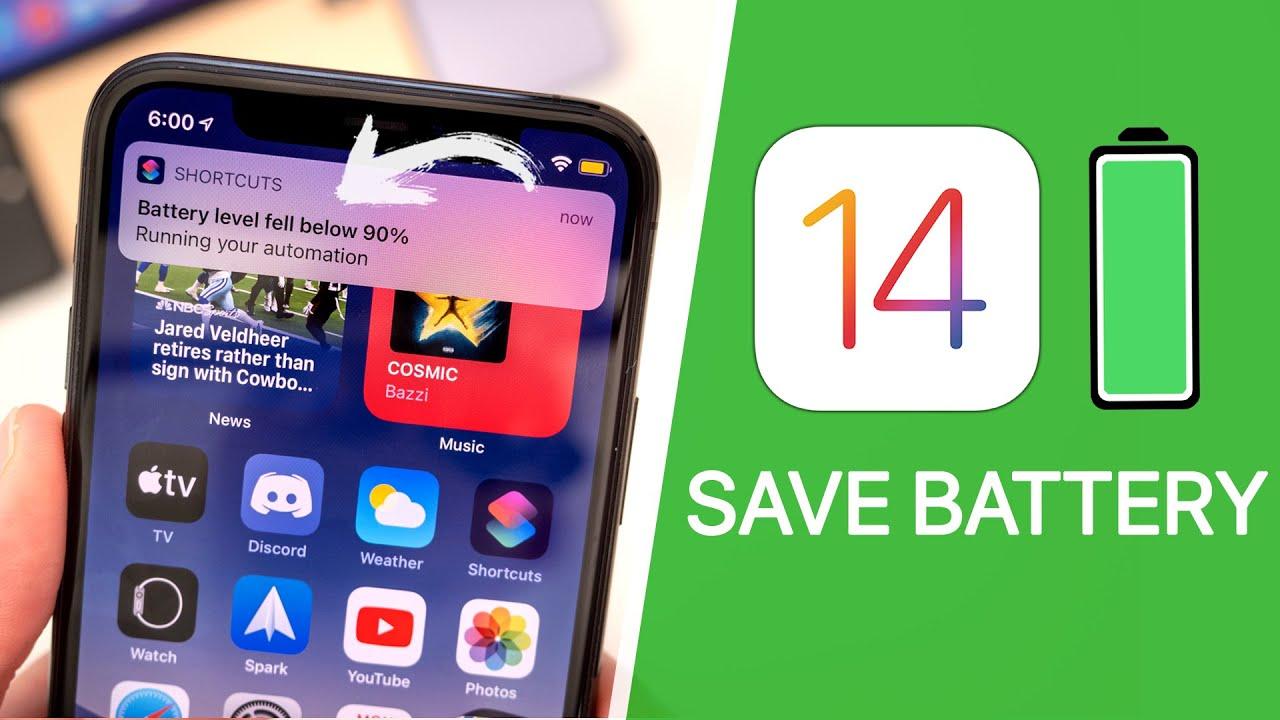 30 Tips To Improve Ios 14 Battery Life Youtube