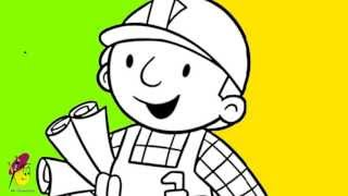 Bob the builder - Drawing - How to draw Bob