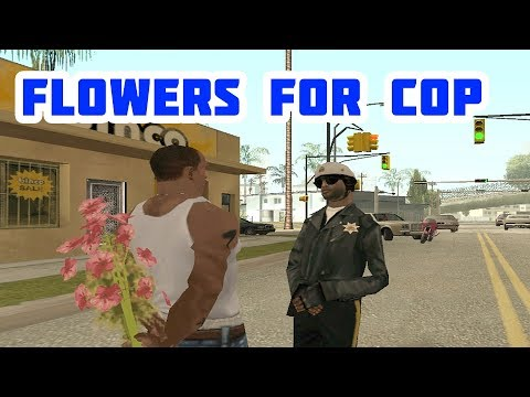 What Happens If You Give Flowers To Cop. GTA San Andreas