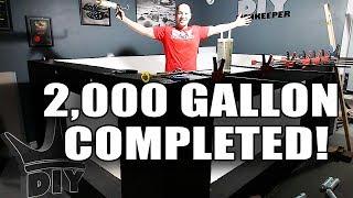 FINISHING THE 2,000 GALLON AQUARIUM! LIVE!! thumbnail