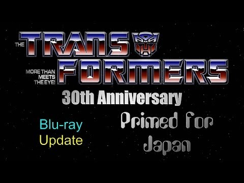 Transformers 30th Anniversary DVD/Blu-ray Update - Primed for Japan