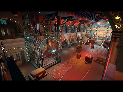 Hotel Futura - dark ride - Future World 1899 (Planet Coaster)