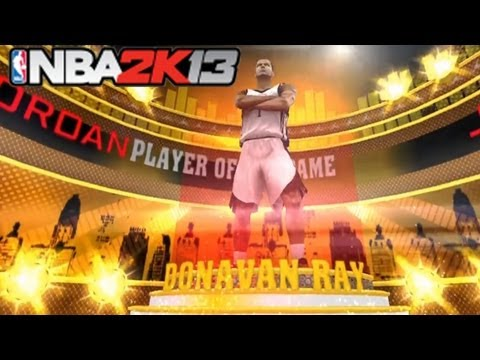 NBA 2K13 myCareer: Debut At Rookie Showcase - NBA Draft - How to score easily #NBA2K13