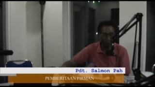 Pdt. Salmon Pah : SUKSES DALAM PERSPEKTIDF IMAN YANG BENAR
