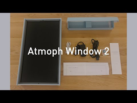 Set Up Your Atmoph Window 2