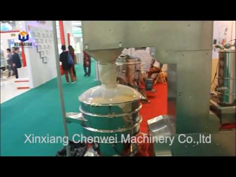 sieving and conveying system in CPHI Wuhan