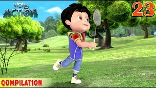 Vir : The Robot Boy | Vir Action Collection - 23 | Action series | WowKidz Action