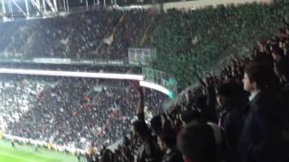 Vodofone deplasmanı BURSASPOR TEKSAS çarşıya DERS VERDİ