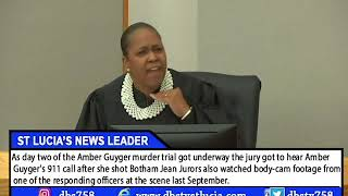 AMBER GUYGER MURDER TRIAL:News Report From St. Lucia TV, Botham Jean's home country.
