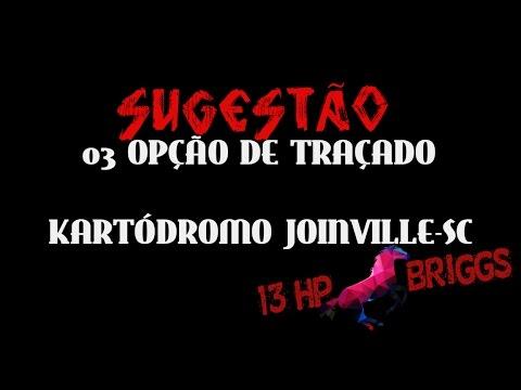 RICK BULL- 3 OPÇÃO DE TRAÇADO/KARTÓDROMO JOINVILLE-SC