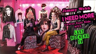 Gambar cover JIMMY WEBB: INSIDE HIS PUNK ROCK BOUTIQUE: I NEED MORE, NYC + LEAVING TRASH & VAUDEVILLE interview