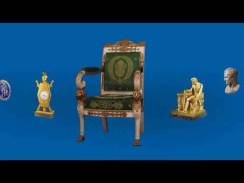 Publicité télé 15 secondes de l'exposition Les Trésors de Napoléon