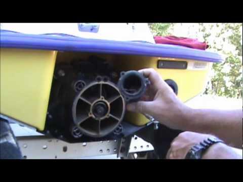 1995 SeaDoo XP Part 1 Pump Removal - YouTube