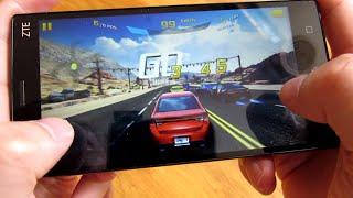 ZTE ZMax 2 Phone - Asphalt 8 3D Game Performance Demo