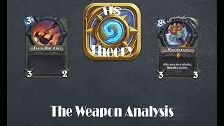 Hearthstone Theory: An Analysis of Weapons