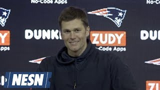 Tom Brady Week 17 Patriots vs. Jets Postgame Press Conference