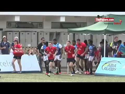 Sri Lanka v Hong Kong   Asia Rugby U20 Sevens Championship 2016 Final