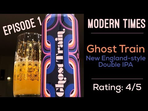 Modern Times Ghost Train Beer Review // Average Beer Dude TV Episode 1