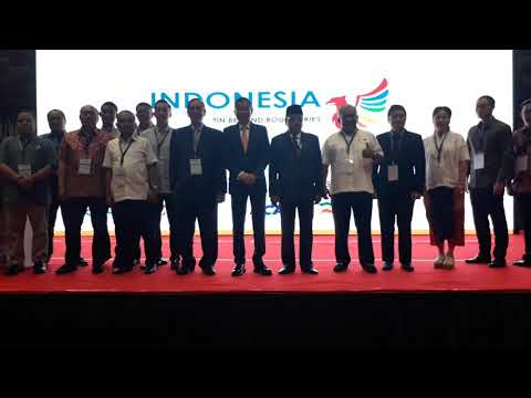 Indonesia Tin Conference & Exhibition 2017 di Sofitel Nusa Dua Bali