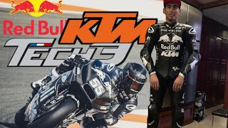 First Day Hafizh Syahrin With Family Redbull KTM Tech3