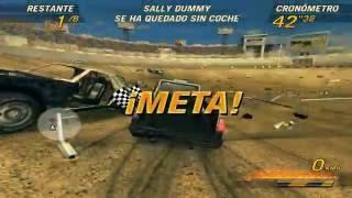 Flatout 2 ((Derbi)) Gameplay PC