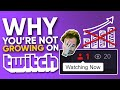 Why You're Not Growing on Twitch (7 Reasons)