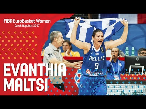 Evanthia Maltsi - Amazing Performance - Quarter-Finals - FIBA EuroBasket Women 2017