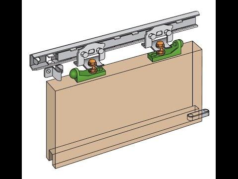 How to Install the Henderson Marathon Sliding Door Gear for a Single Sliding Door Ball Race System