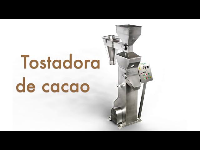 Tostadora de cacao/ Hot air roaster  - Vulcanotec