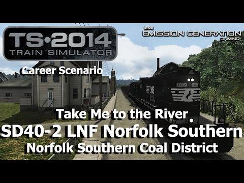 Take Me To The River - Career Scenario - Train Simulator 2014