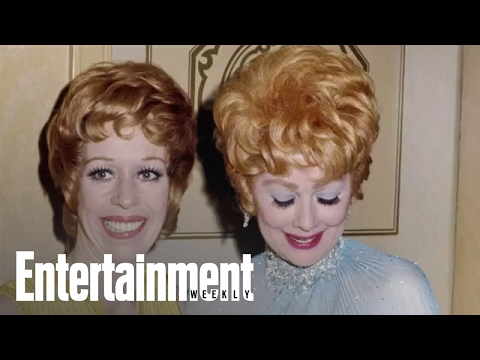 Carol Burnett On How Lucille Ball Got Her Nickname - EW Siriusxm Radio | Entertainment Weekly