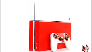 Red Carbon Fiber PS4 | XTREMESKINS REVIEW