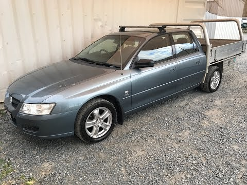 (SOLD) Automatic Car. Twin Cab Ute. Holden Crewman 2005 Review