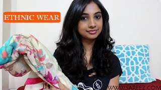 Ethnic Haul From WWW.SAREEZ.COM II Indian Wear II Website Review